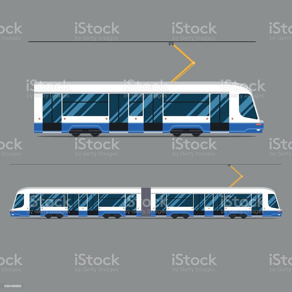 set vector mass rapid transit urban vehicles Collection  municipal transport vector art illustration