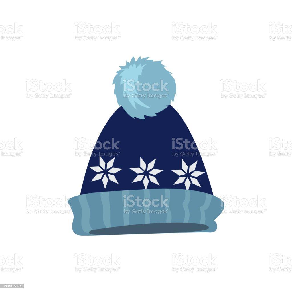 Set Winter Hat vector art illustration