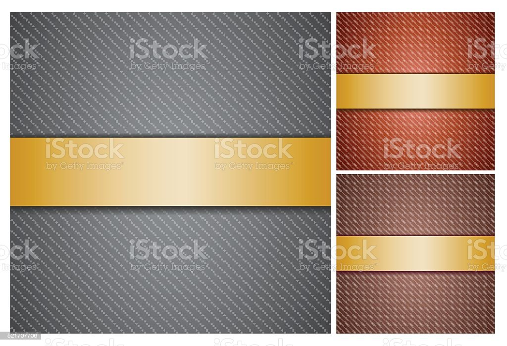Set with backgrounds. vector art illustration