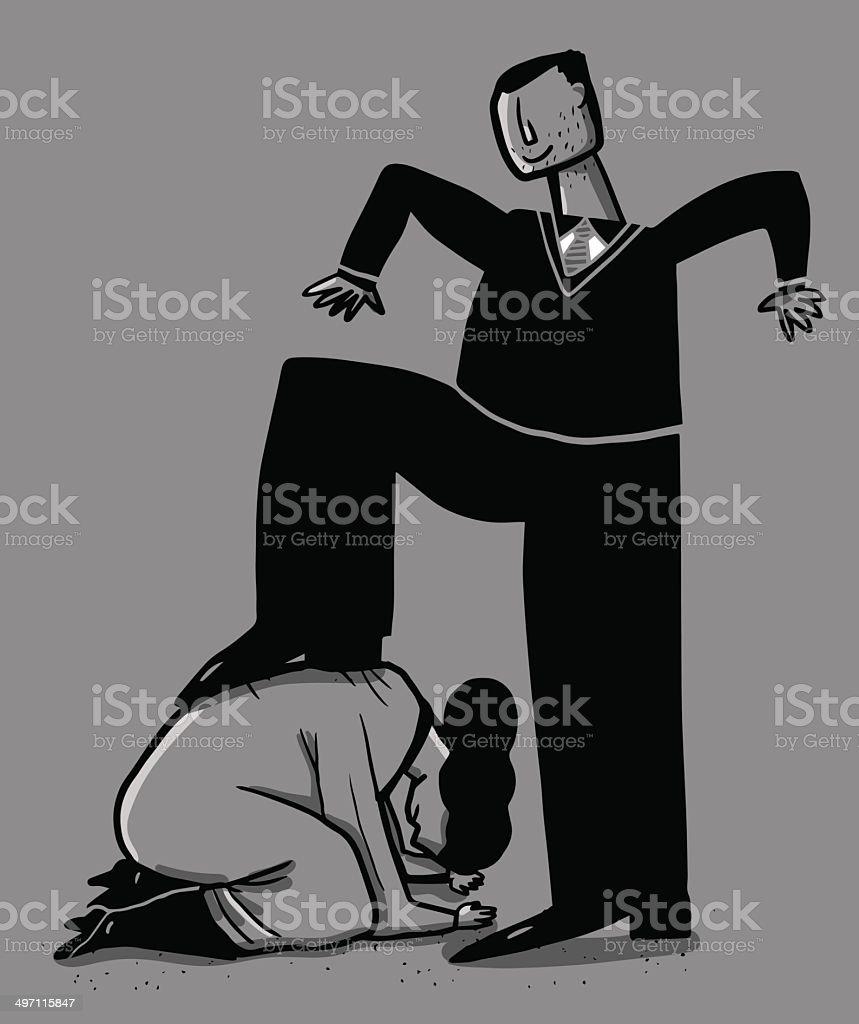 Sexist vector art illustration