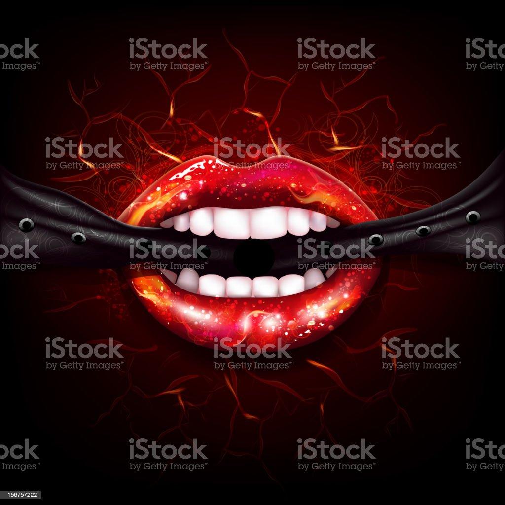Sexy Lips royalty-free stock vector art