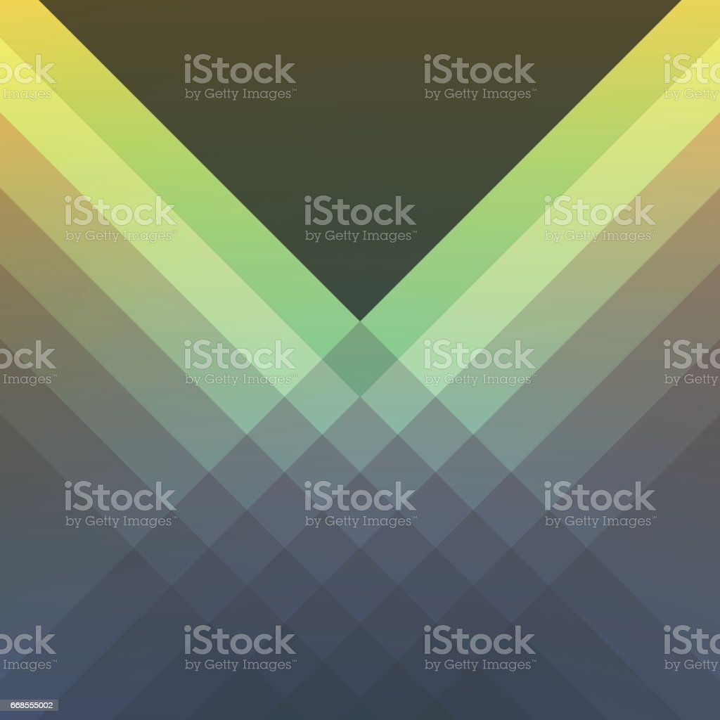 Shades Of Green Modern Vector Abstract Background vector art illustration