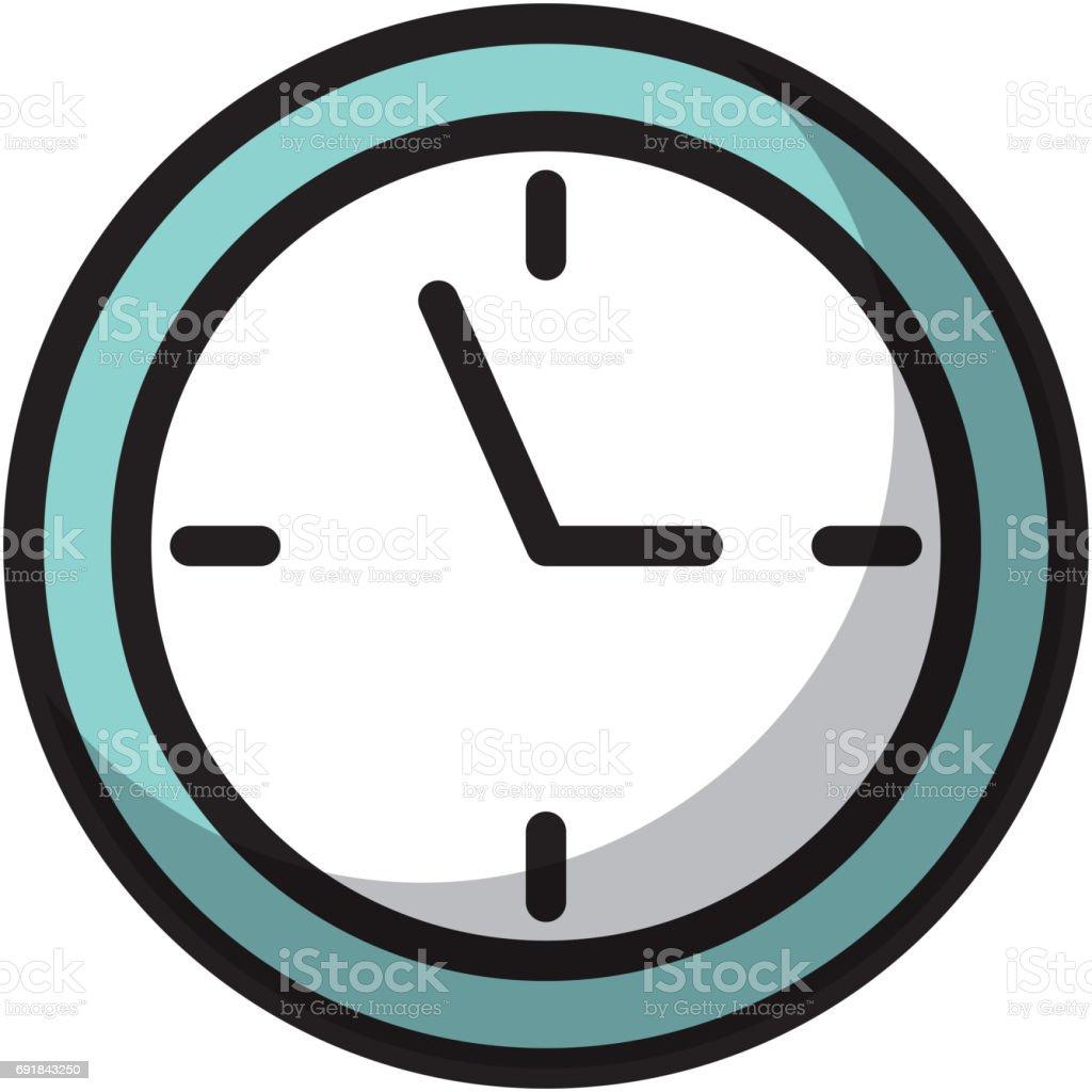 Dibujos animados de reloj de sombra illustracion libre de for Imagenes de relojes