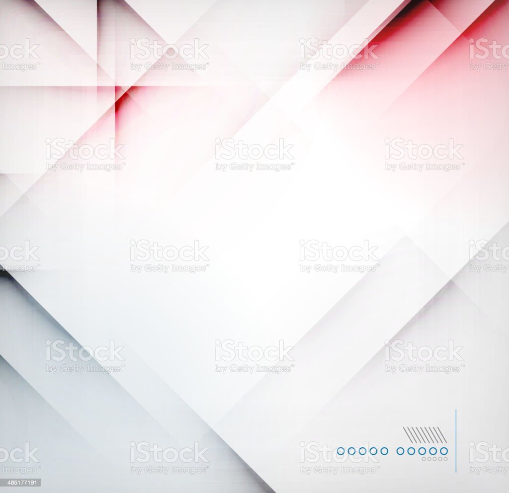 Shadow lines abstract design vector art illustration