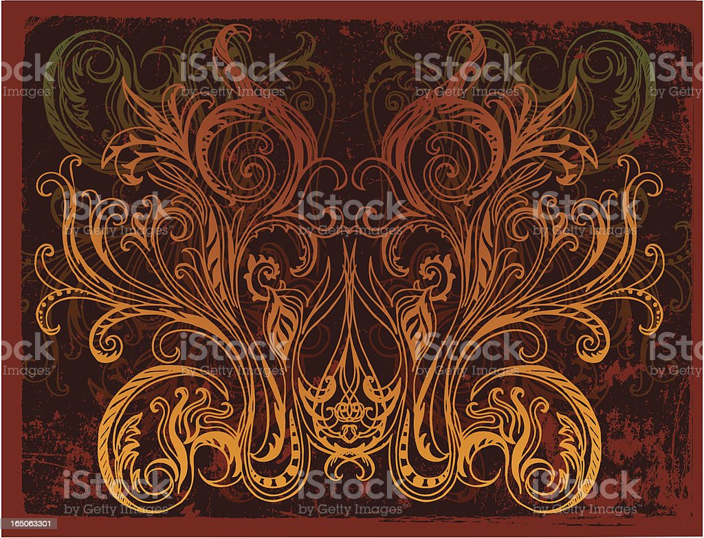 shamanic mask vector art illustration