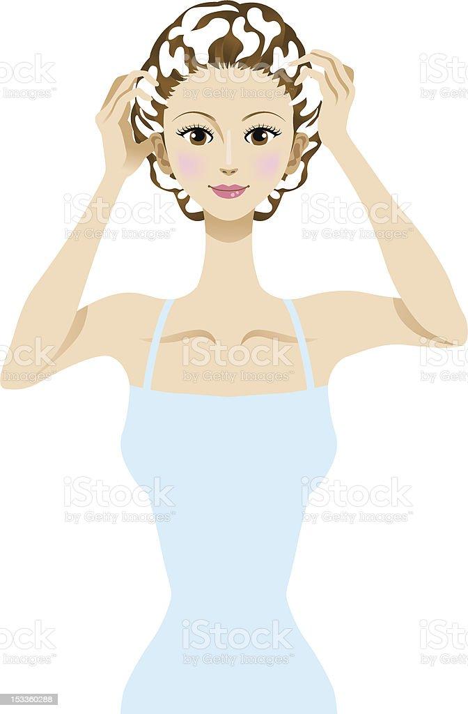 shampoo royalty-free stock vector art