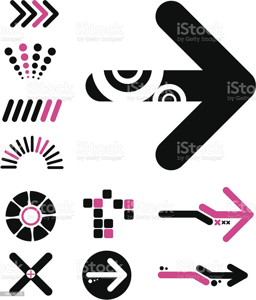 Shapes royalty-free stock vector art