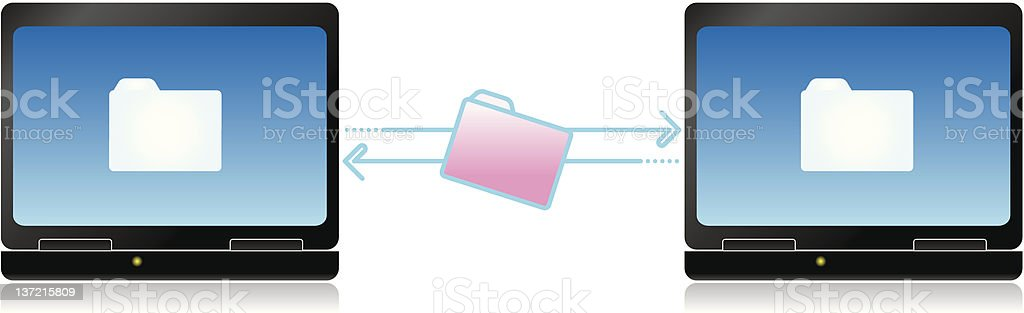 share document royalty-free stock vector art