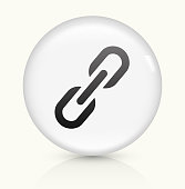 Share icon on white round vector button
