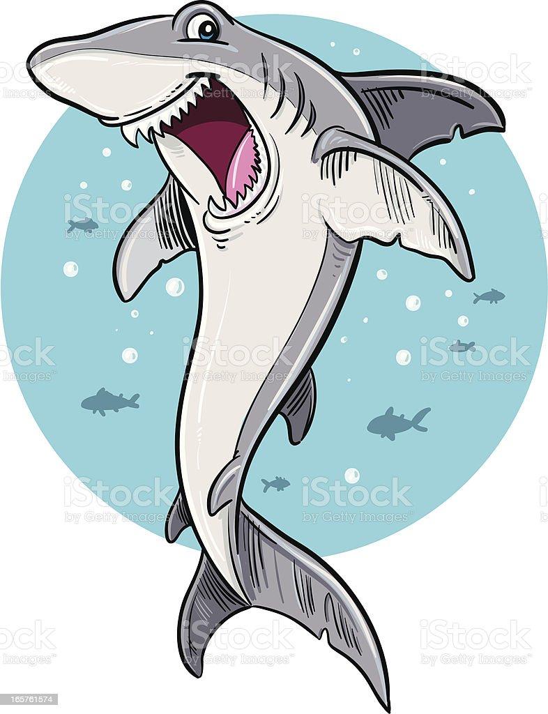 Shark royalty-free stock vector art