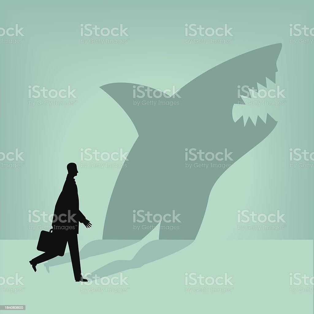 Shark vector art illustration