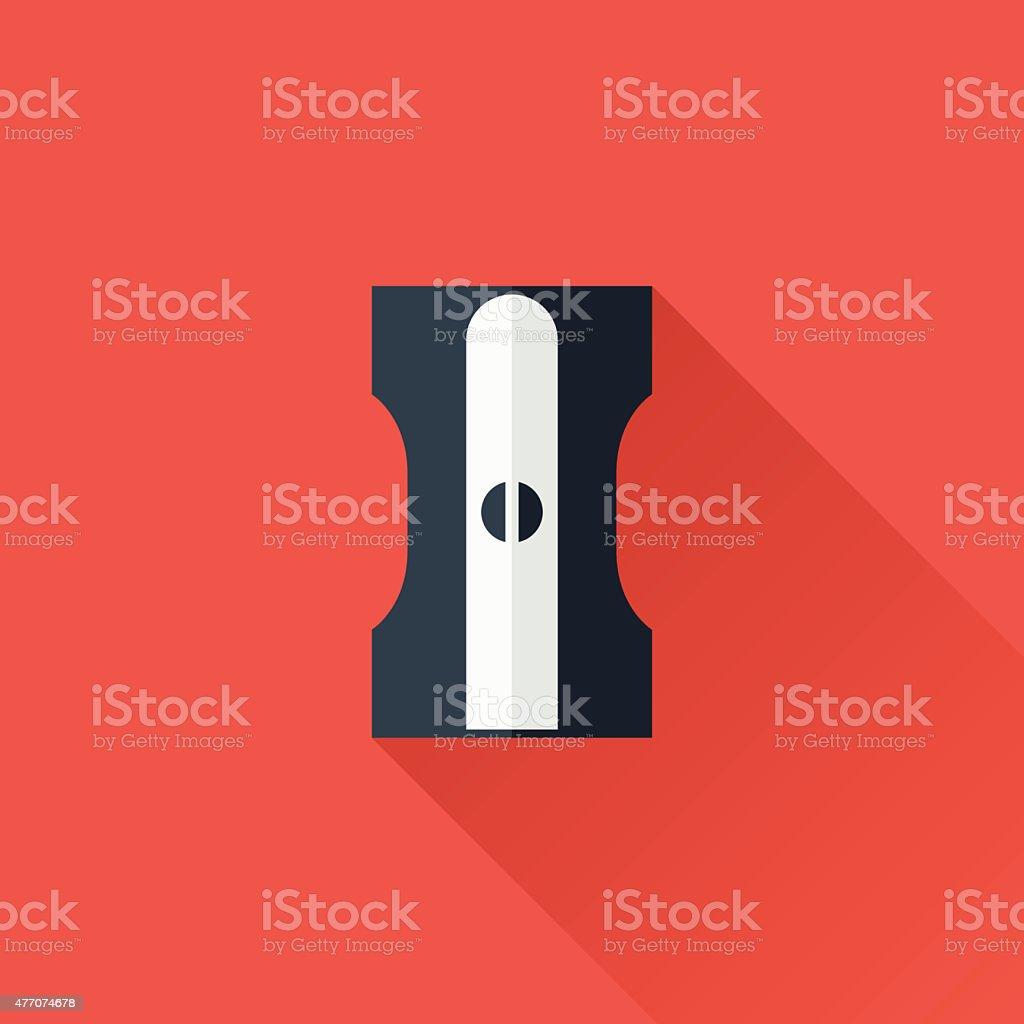 Sharpeners vector art illustration