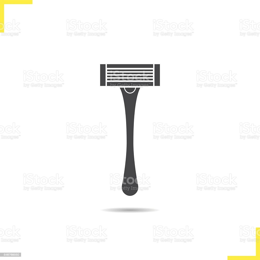 Shaver icon vector art illustration