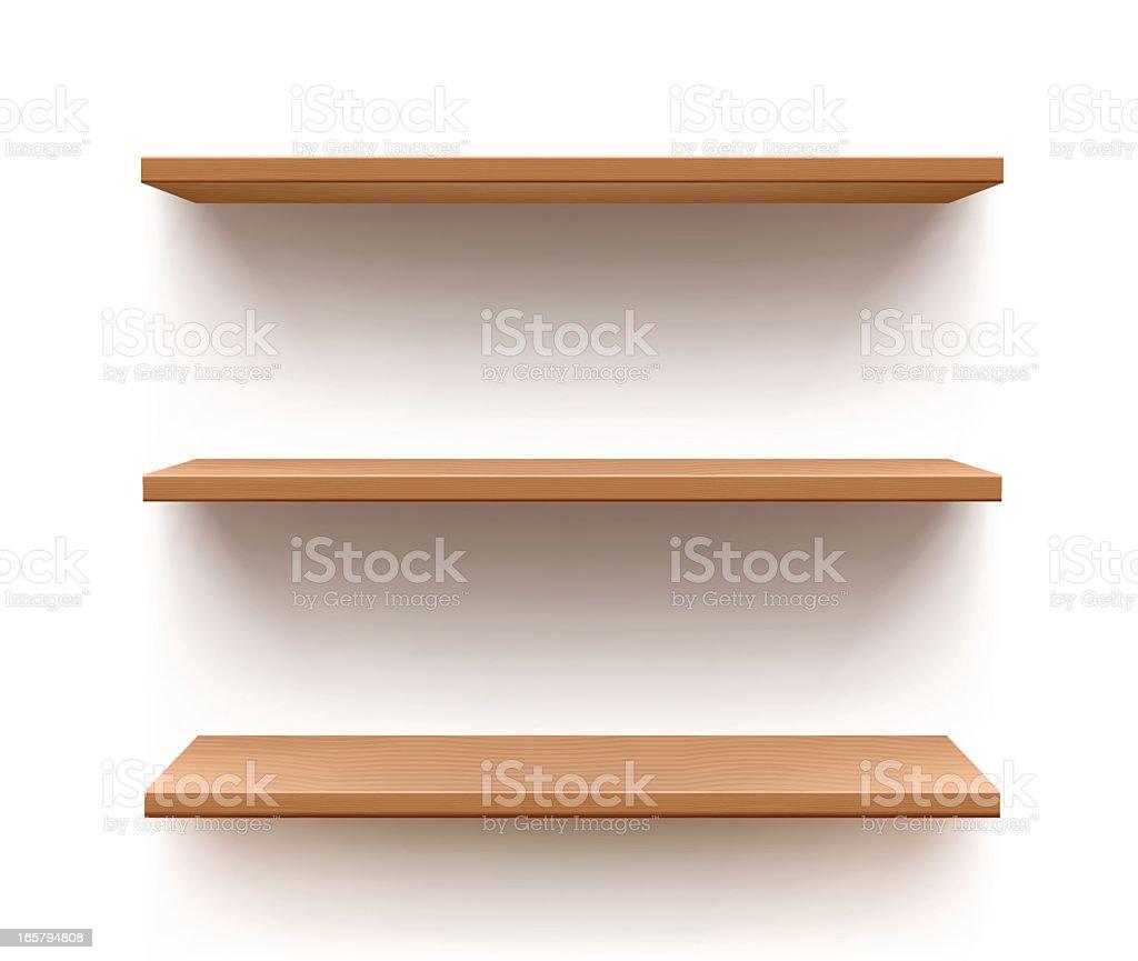 Shelf vector art illustration