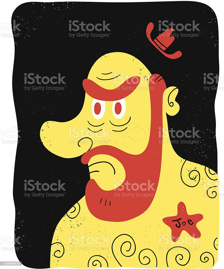 Sheriff Joe royalty-free stock vector art