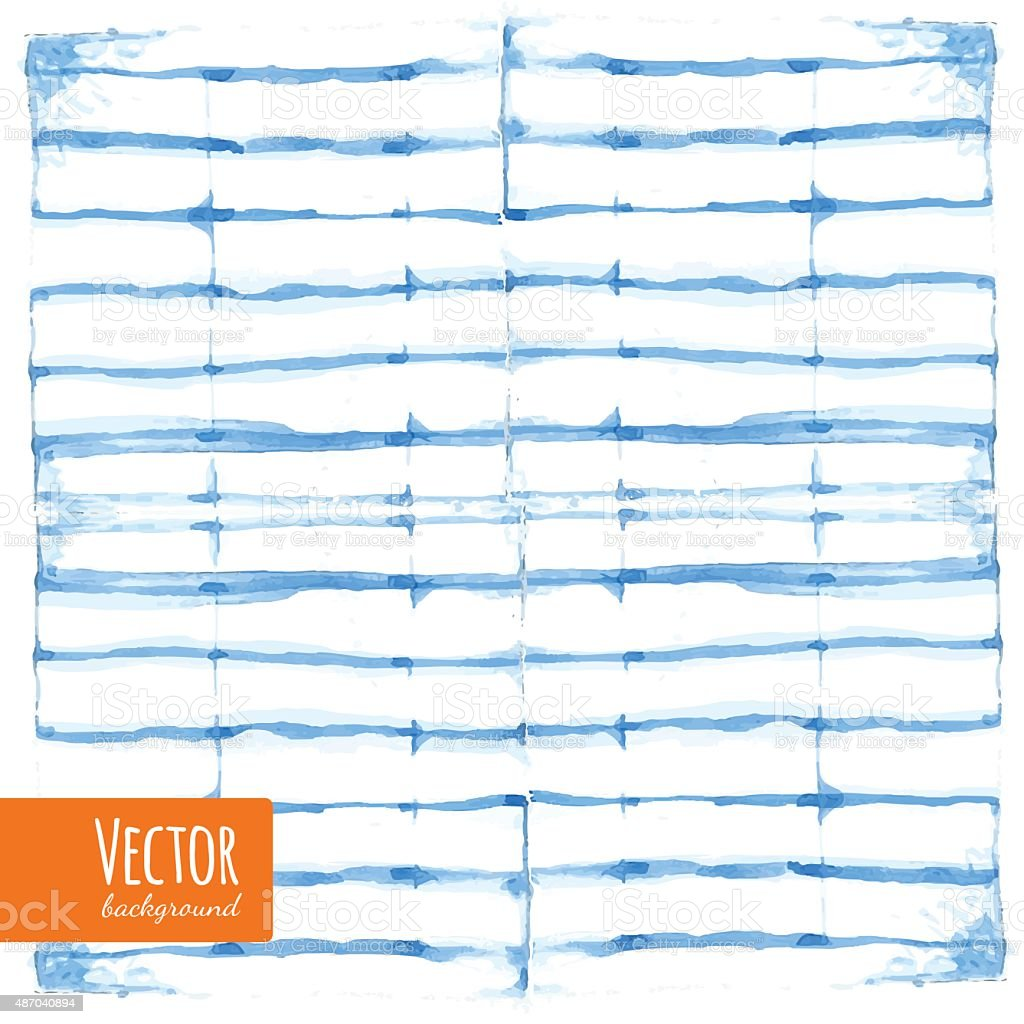 shibori vector art illustration