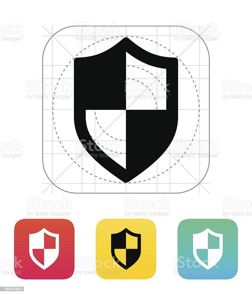 Shield icon. royalty-free stock vector art