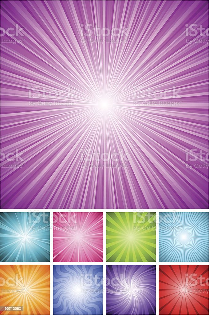 Shining Backgrounds royalty-free stock vector art