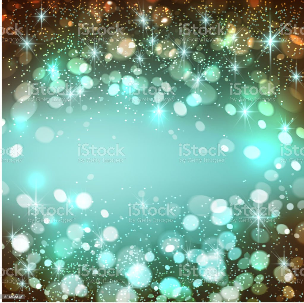Shining bokeh illustration. Vector illustration vector art illustration