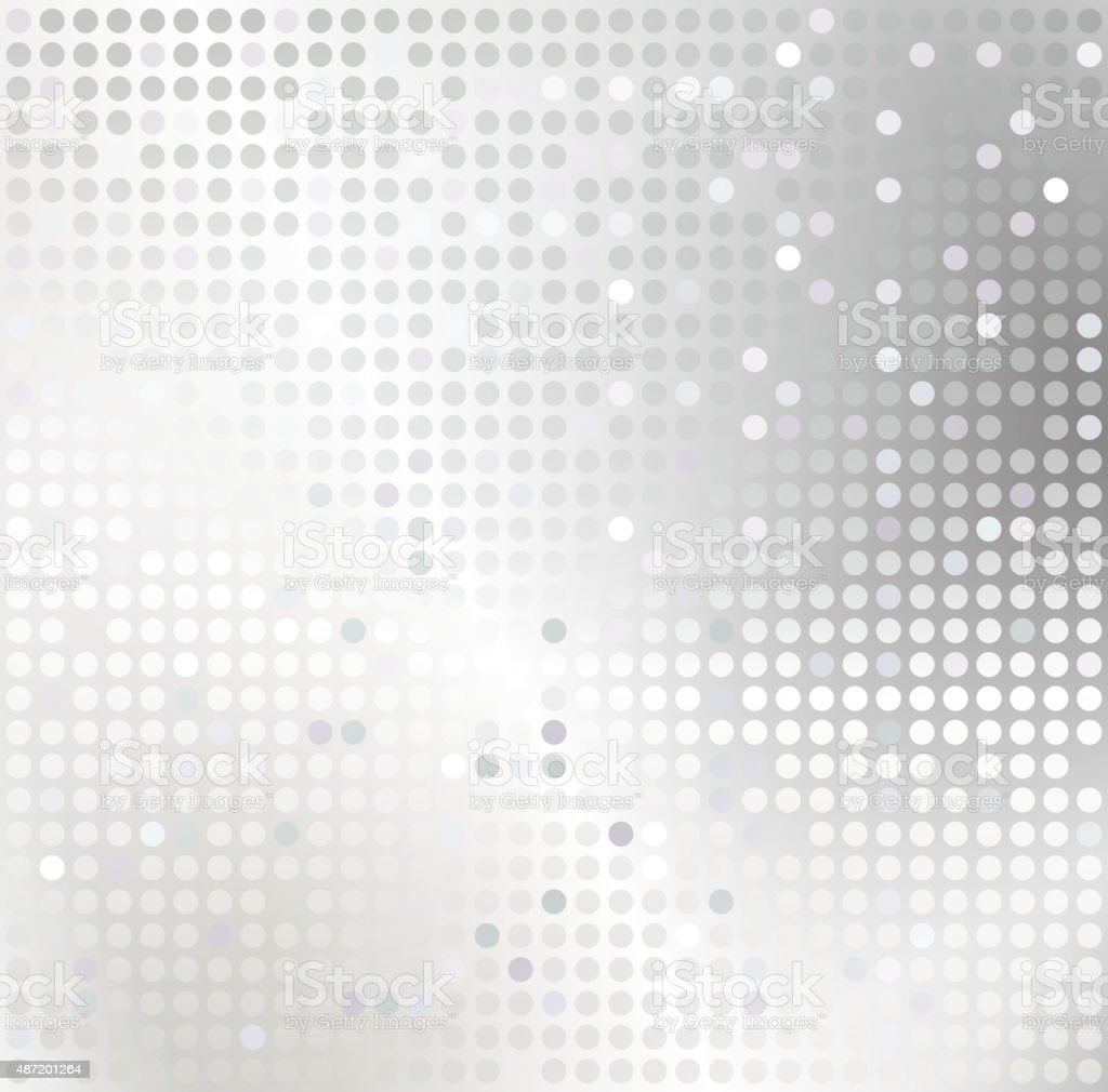 Shiny background with sequins. Template for your design vector art illustration