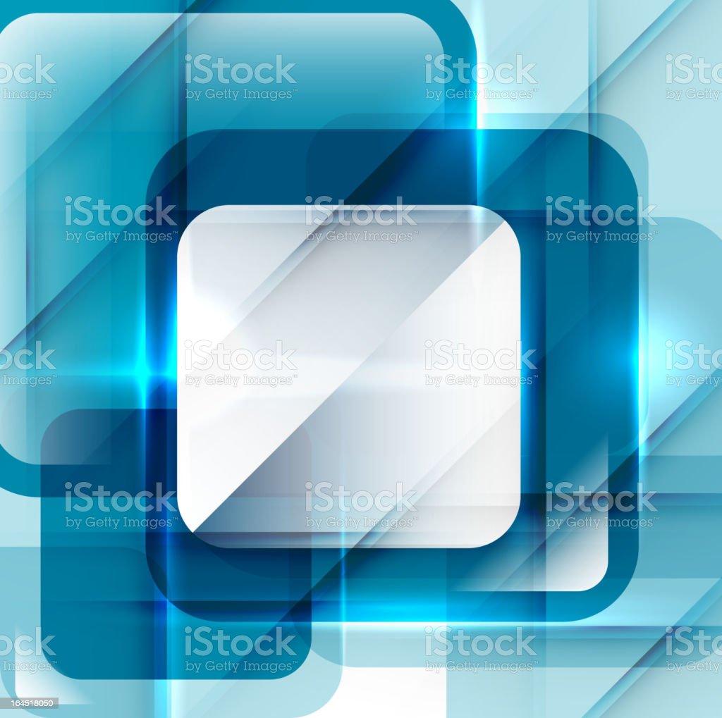 Shiny blue background royalty-free stock vector art