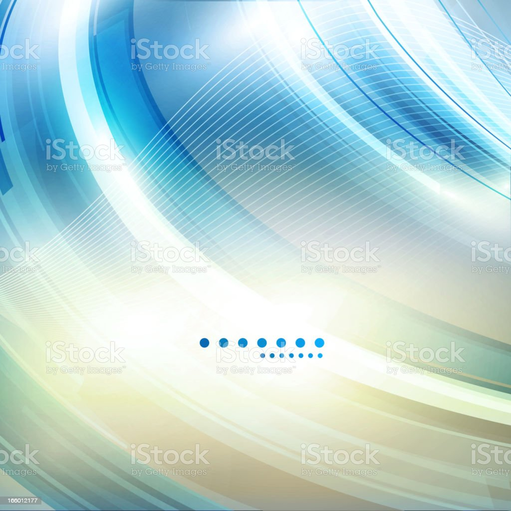 Shiny blue background royalty-free stock vector art