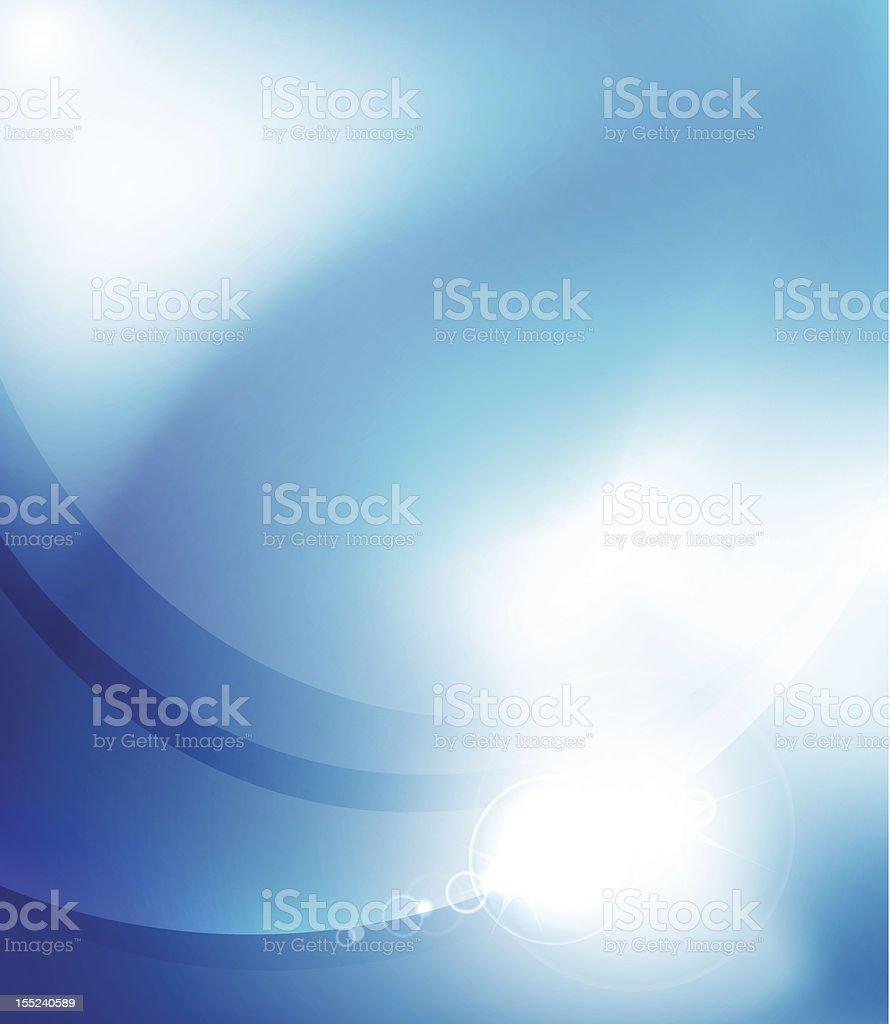 Shiny blue vector background royalty-free stock vector art