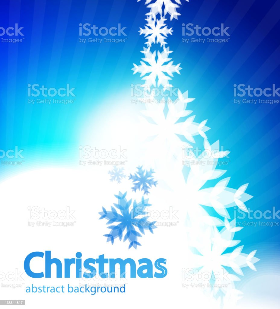 Shiny Christmas vector background vector art illustration