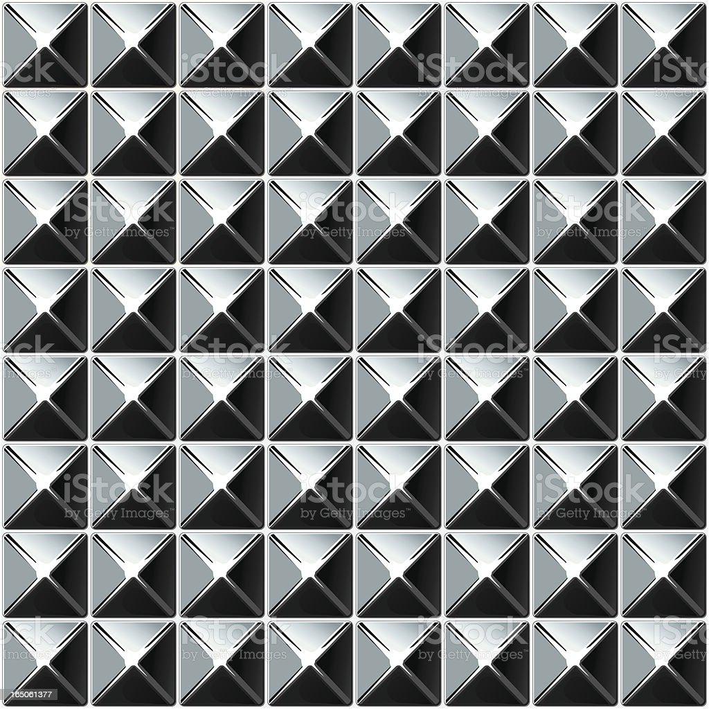shiny grey-white metallic background royalty-free stock vector art