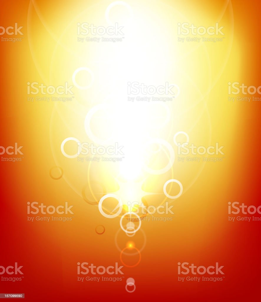 Shiny orange background royalty-free stock vector art