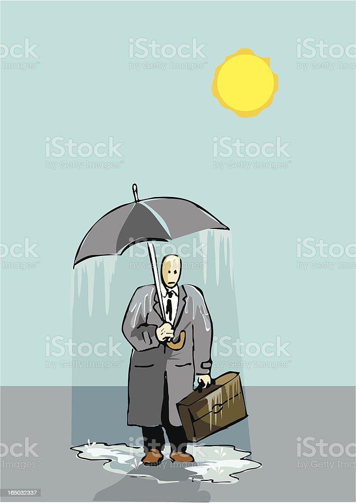 shiny rainy day  VECTOR royalty-free stock vector art