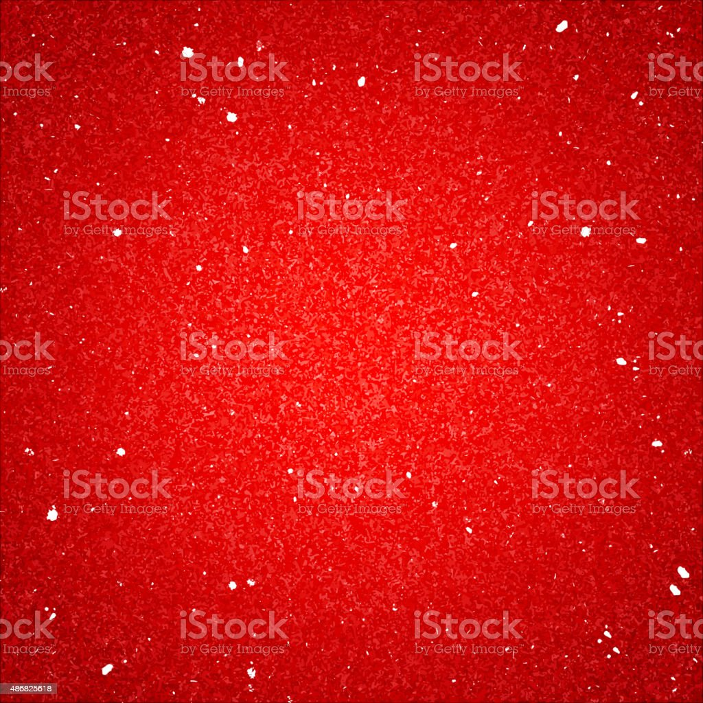 Shiny Red Textured Background with Sequins vector art illustration