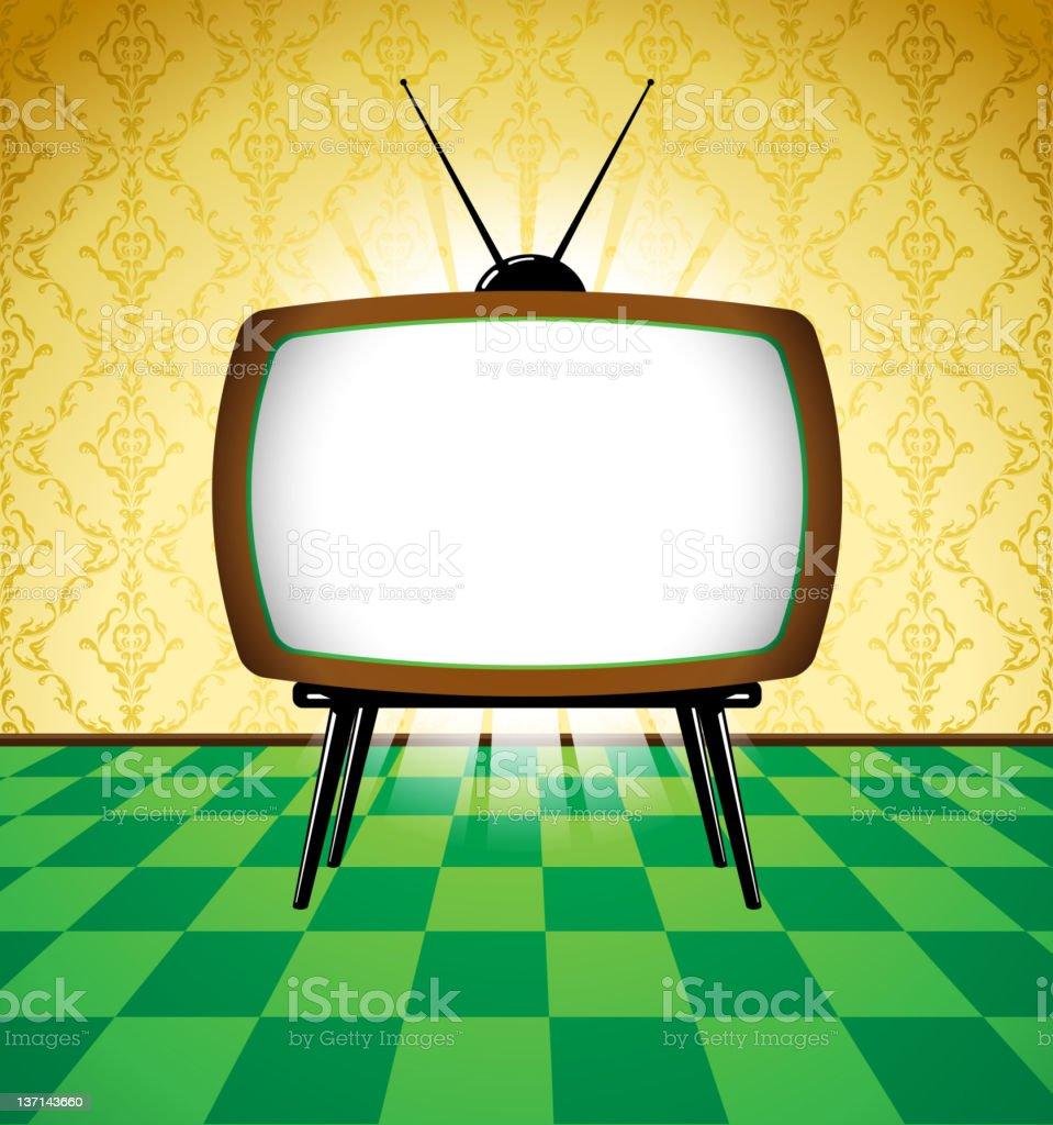 Shiny tv royalty-free stock vector art