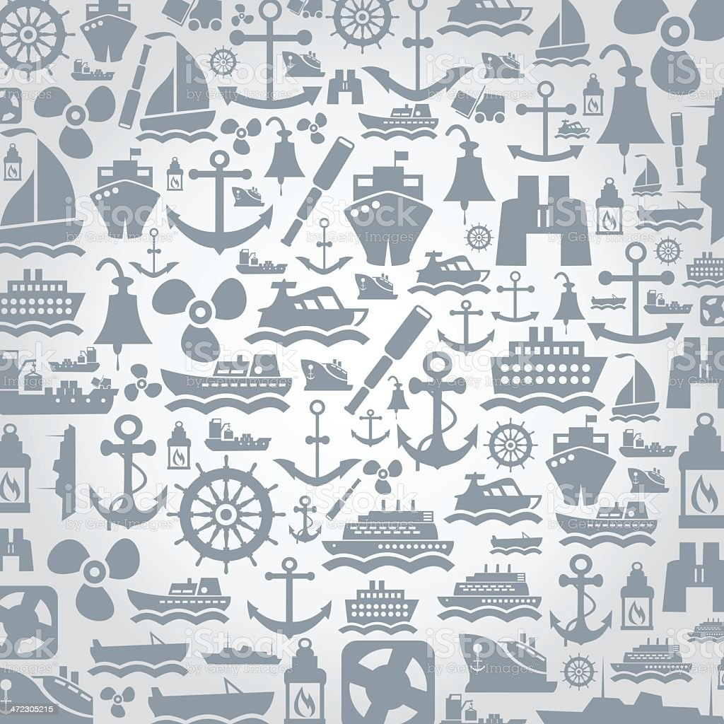 Ship a background royalty-free stock vector art