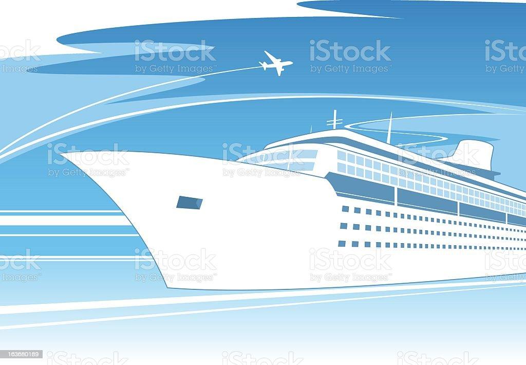 Ship concept royalty-free stock vector art