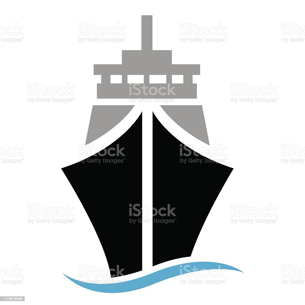 Ship or boat Illustration - VECTOR vector art illustration