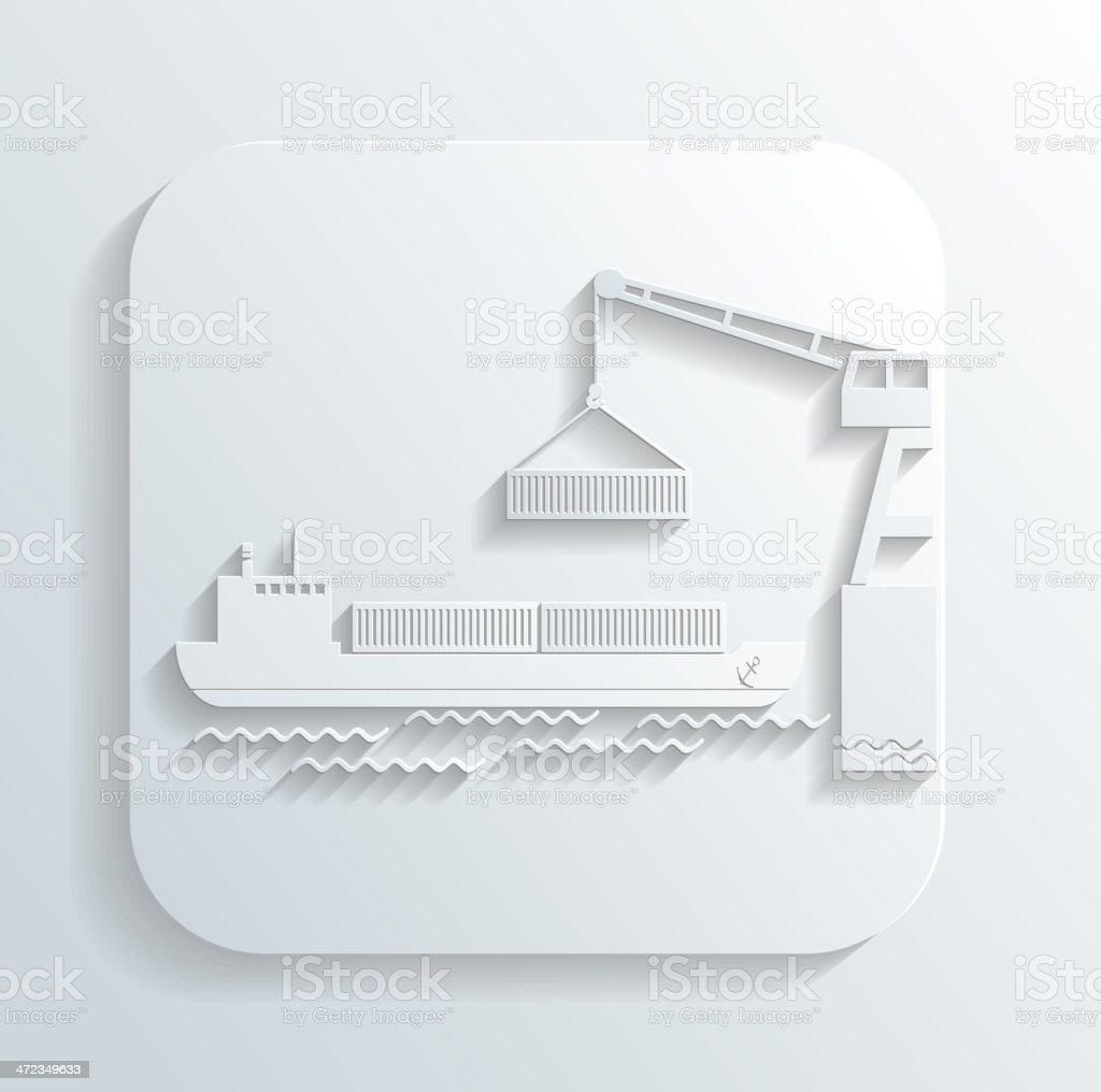 shipment icon vector royalty-free stock vector art