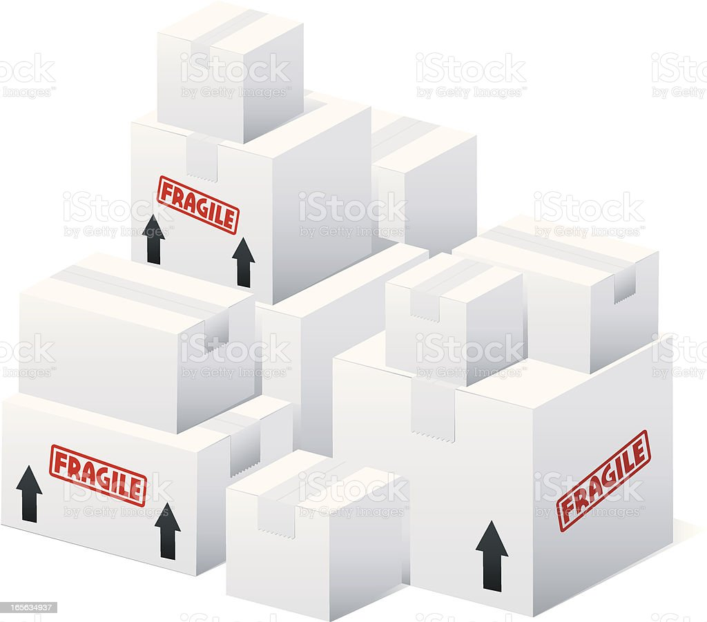 Shipment royalty-free stock vector art