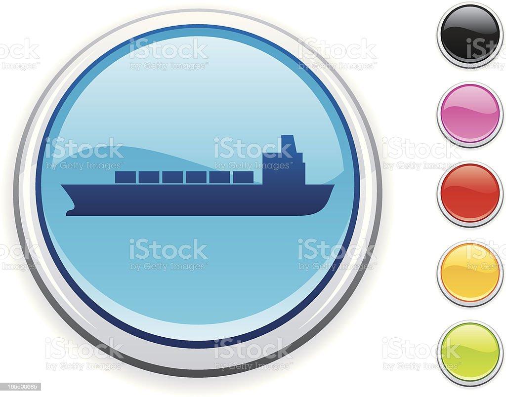 Shipping icon royalty-free stock vector art