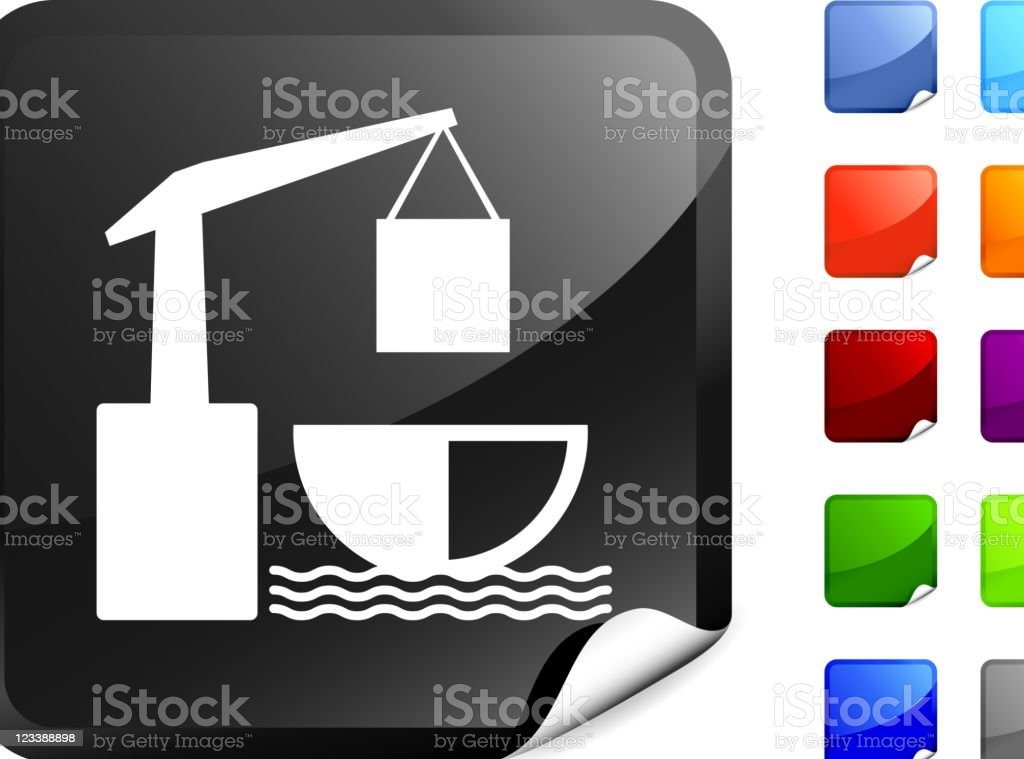 shipping port internet royalty free vector art royalty-free stock vector art