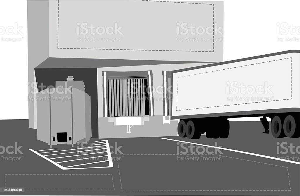 Shipping Receiving Notes vector art illustration