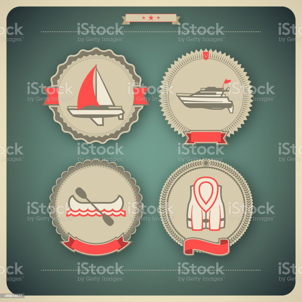 Ships and boats royalty-free stock vector art