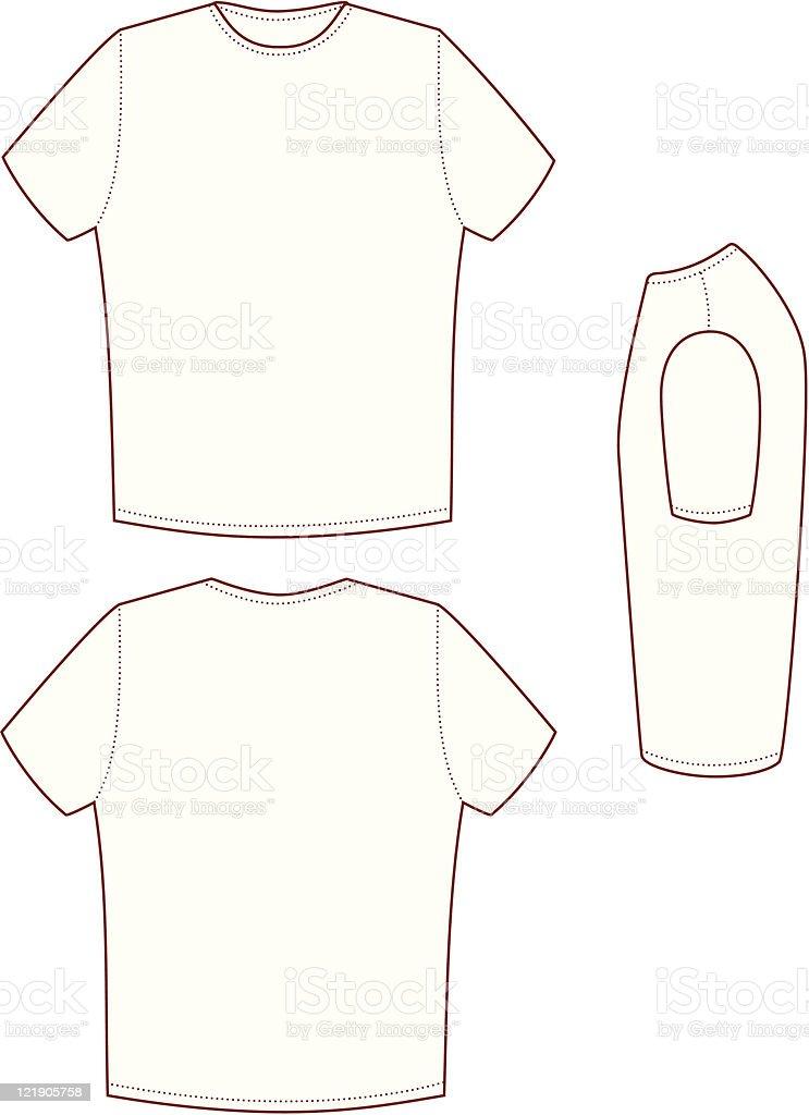 T Shirt vector art illustration