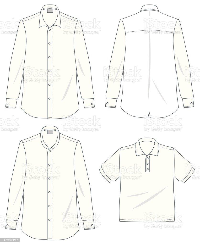 Shirt vector art illustration