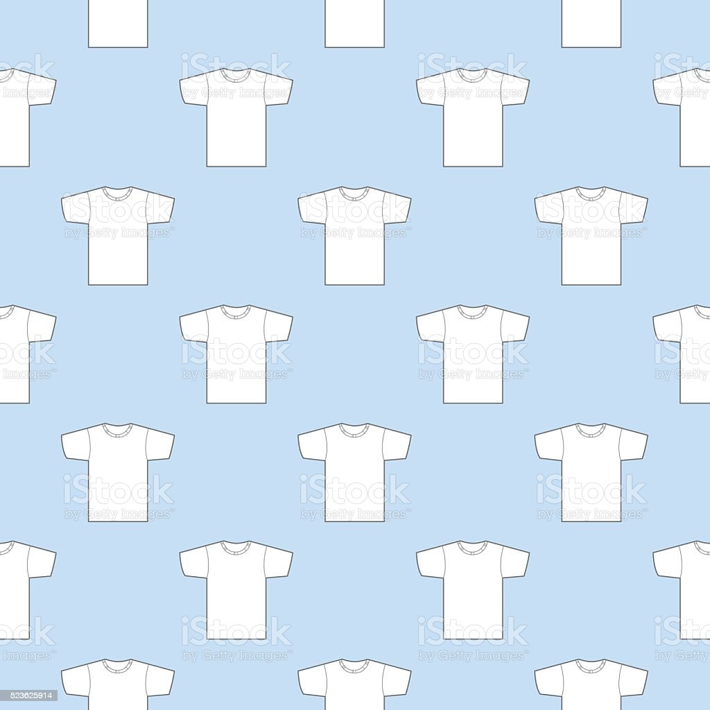 T Shirts Pattern vector art illustration