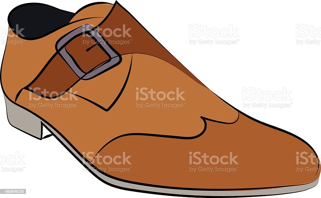 Shoes Hand Drawn Vector Icon vector art illustration
