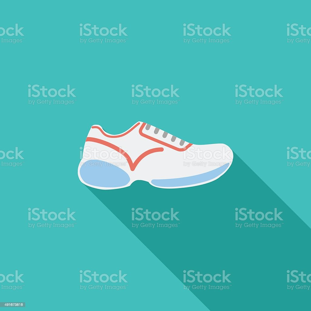 Shoes icon vector art illustration