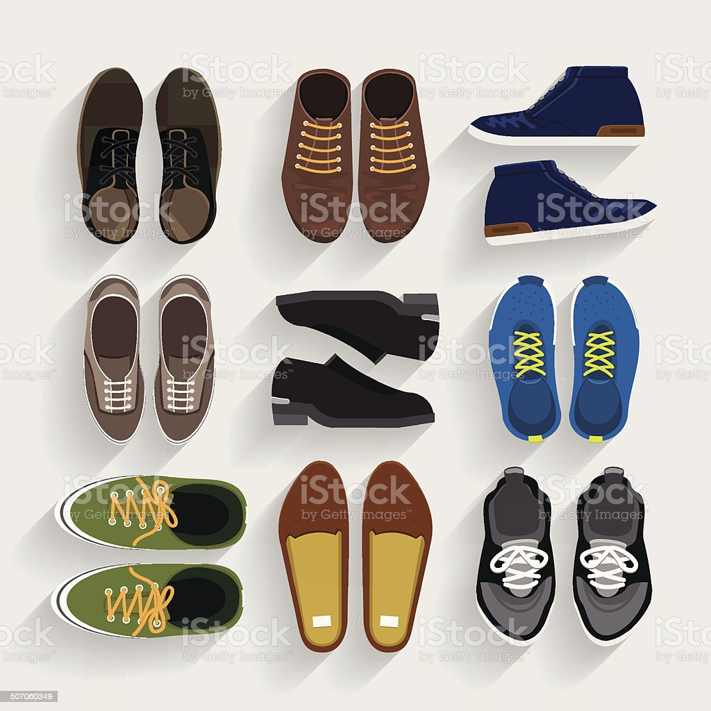 Shoes Illustrate vector art illustration