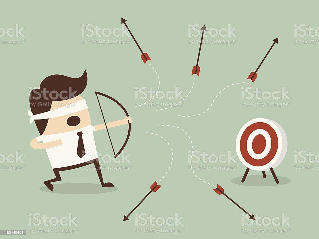 shoot Goal vector art illustration