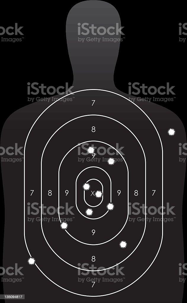 Shooting Target vector art illustration